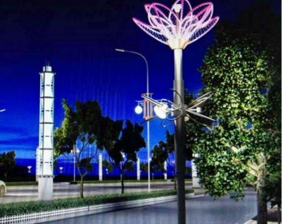 苏州恒丰路桥完成景观灯光改造炒货机